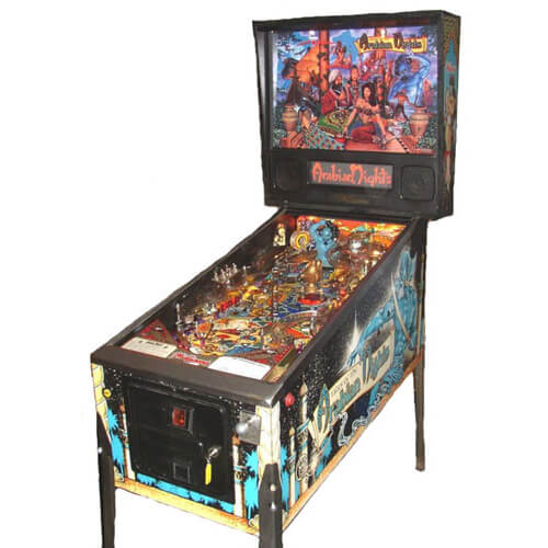 Tales of the arabian nights pinball machine 1