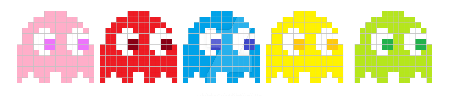pac man png images transparent free download pngmartcom pac man ghost png 1600 356 1