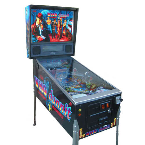 who dunnit pinball machine 1